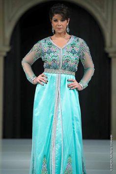 Leila hadioui - Caftan 2016 - caftanluxe
