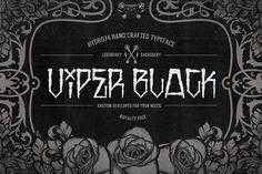 Viper Black by Hydro74 on @creativemarket