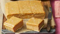 Custard Slice, Vanilla Custard, Salted Caramel Slice, No Bake Slices, Baked Doughnuts, Chocolate Glaze, Four, Tray Bakes, Sweet Recipes