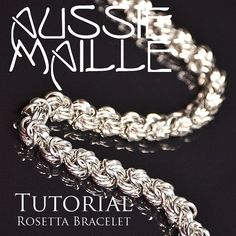 Chainmaille Tutorial  Rosetta Chain Maille by AussieMaille on Etsy, $4.50 love it! must try! #ecrafty