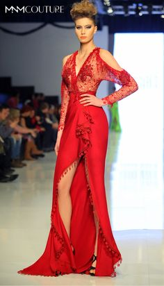 Style #2136 From MNM COUTURE RED CARPET COLLECTION by Fouad Sarkis