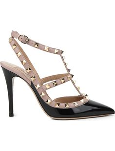 7d74eee35399 VALENTINO - Rockstud 100 leather courts