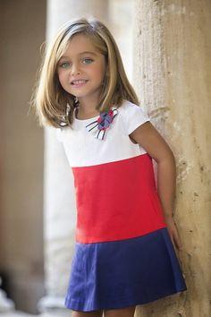 Moda Infantil Verano Dresses For 2019 Little Girl Models, Child Models, Cute Kids Fashion, Baby Girl Fashion, Toddler Dress, Baby Dress, Little Girl Dresses, Girls Dresses, Girl Outfits