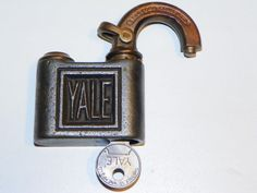 Antique Style Fish Type Padlock Brass Made Black Padlock Rhythm Enterprise Fish Pad Lock Lock with Key