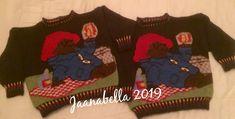Paddigton neulepuserot kaksospojille /Knitted Paddigton sweater to the twins Twins, Sweaters, Handmade, Hand Made, Sweater, Gemini, Twin, Sweatshirts, Pullover Sweaters