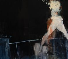 Ashley  Wood -  But Was It Love (2012) oil and acrylic on panel,   36 x 42 inches (91.44 x 106.68 cm)  38.75 x 44.75 x 2.25 inches, framed