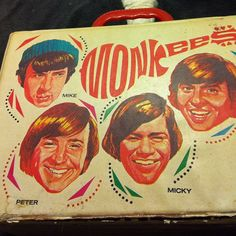 My Monkees lunch box. #vintage #themonkees #lunchbox