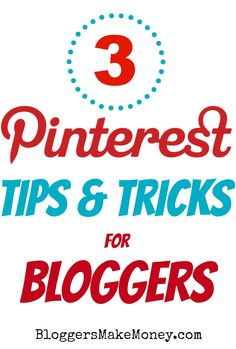 3 Pinterest tips you can use to integrate into your blog #pinteresttips #blogging #socialmedia #pinoftheday