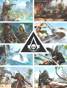 Captains will curse our flag and Kings will fear it - Edward Kenway