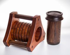 Picture of Segmented Wooden Cryptex