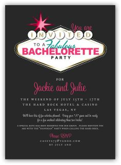 Top 5 Bachelorette Ideas - Blog!