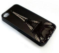 Paris Eiffel Night - iPhone 4 Case, iPhone