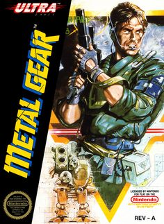 metal gear nes box art - Google Search