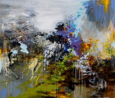 Jones, Forest of Fountainebleau, Mixed Media on Wood, 60×70 SOLD