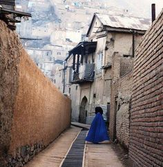 The streets of Kabul, Afghanistan.
