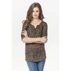 Shop shirts & blouses at Ardene. Get off-the-shoulder tops, plaid shirts, or prairie blouses in the most popular trends for cute looks that suit all seasons. Girl Outfits, Fashion Outfits, Womens Fashion, Shirt Blouses, Shirts, Leopard Top, Shirt Shop, Latest Trends, Tunic Tops