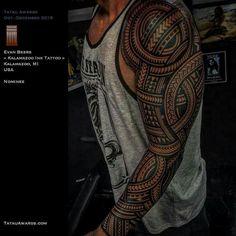 maori tattoos and meanings Polynesian Tattoo Sleeve, Samoan Tattoo, Tattoo Son, Arm Tattoo, Bad Tattoos, Sleeve Tattoos, Maori Tattoos, Tattoo Sleeves, Tatoos