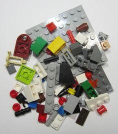 50+ LEGO Original Pieces Bulk Washed and Sanitized NEW (BK11)