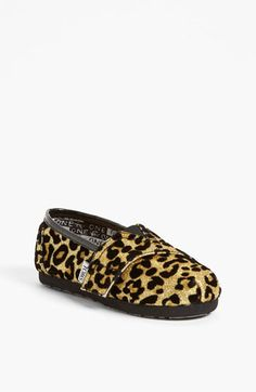 leopard tiny toms. want these for Penelope