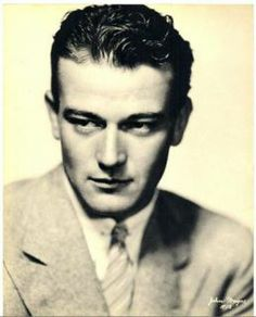 Nice Portrait of A Very Young John Wayne