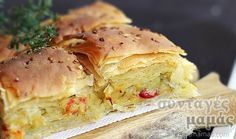 Πατατόπιτα νηστίσιμη Vegetarian Recipes, Cooking Recipes, Healthy Recipes, Cypriot Food, Greek Appetizers, Armenian Recipes, Greek Cooking, Vegan Foods, Sweets Recipes