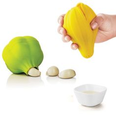Garlic Peeler/Lemon Squeezer Set now featured on Fab.