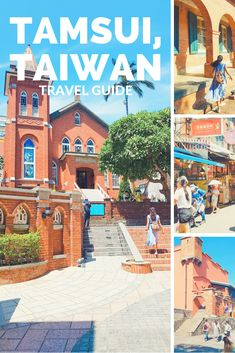 Tamsui, Taiwan Travel Guide: Day Trip you Should Consider when You Visit Taiwan - The Fickle Feet Taipei Travel Guide, Taiwan Travel, China Travel, Taiwan Culture, Taiwan Itinerary, Backpacking Asia, Photos Voyages, Travel Humor, Travel Guides