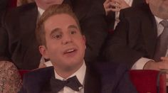 Best Part of the Tony's - Ben Platt <----- this was HILARIOUSSSS<<<I am beyond glad this gif exists!