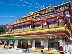 Sikkim Tour Packages at Best Prices Gangtok, Northeast India, Hills And Valleys, Honeymoon Packages, Tourist Places, Buddhist Temple, Incredible India, Pilgrimage, Nice View