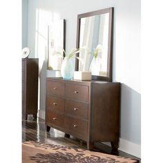 Coaster Furniture Loretta 6 Drawer Dresser - COA3617-2 #coasterfurnituredrawers