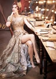 Eva Green in Dumbo, costumed by Colleen Atwood Colleen Atwood, Eva Green, Hair Color, Costumes, Formal Dresses, Dramas, Connect, Bond, Drama