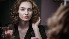 Eleanor Tomlinson as Mary Durrant in Ordeal by Innocence. April 2018