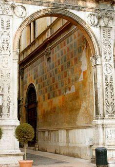 A wall in Verona, Italy