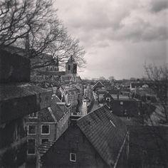 View over Leiden… @ De Burcht, Leiden