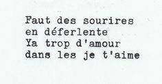 """decadenceperpetuelle: """" Saez, Aux encres des amours """""""