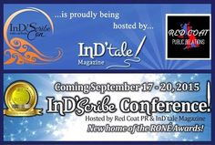 Ind'Scribe 2015 Author and Reader Conference  ~ September 17-20, 2015 ~ Palm Springs, California