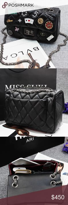 Las Vegas Lucky Classic Flap Purse Well, PU leather. Last photo says a lot. Offer welcomed CHANEL Bags