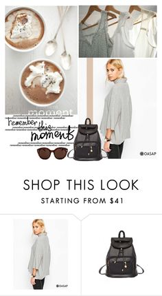 """""""Must-Have PU Leather Backpack"""" by pinki1994 ❤ liked on Polyvore featuring oasap Leather Backpack, Pu Leather, Backpack Outfit, Must Haves, Backpacks, Polyvore, Outfits, Shopping, Fashion"""