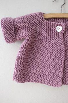 Ideas Crochet Cardigan Pattern Girls Baby Sweaters For 2019 Baby Knitting Patterns, Baby Cardigan Knitting Pattern Free, Knitted Baby Cardigan, Knit Baby Sweaters, Toddler Sweater, Knitting For Kids, Free Knitting, Cardigan Sweaters, Crochet Jacket
