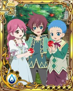 Cheria, Asbel and Hubert