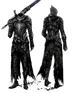 Artorias the Abysswalker - Pictures & Characters Art - Dark Souls