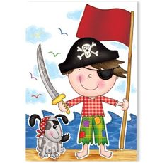 Rebecca loves pirates.....