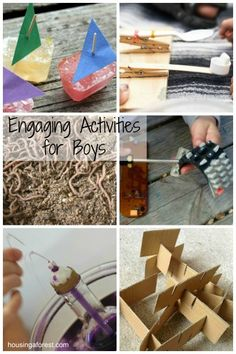 Engaging Activities for Boys ~ great to add to your summer bucket list!