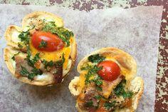 Mini bacon and egg pies – Recipes – Bite
