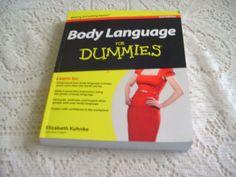 Body Language for Dummies® by Elizabeth Kuhnke (2012, Paperback)