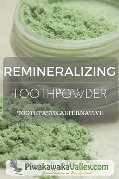A Better Alternative to Toothpaste: Remineralizing Tooth Powder