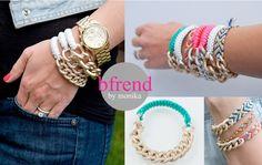 Bfriend modern friendship bracelet