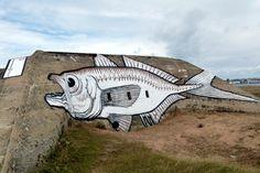 Street Art sur la côte bretonne