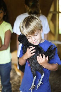 Children have a natural affinity for animals. Would they choose to eat them if we didn't teach them to?