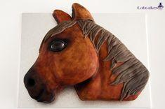 Catcakes - Repostería Creativa: Tutorial tarta cabeza de caballo